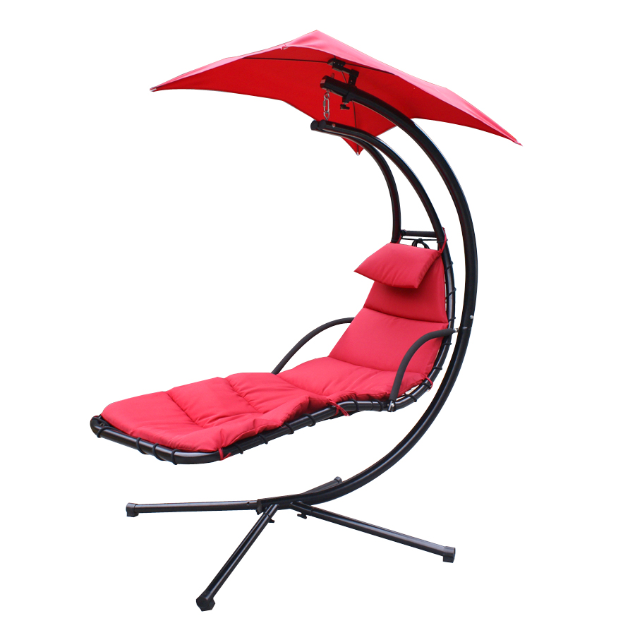 Chaise Lounger Hanging Chair Arc Stand Air Porch Swing Hammock Chair Canopy  Teal  In Hammocks From Furniture On Aliexpress.com | Alibaba Group