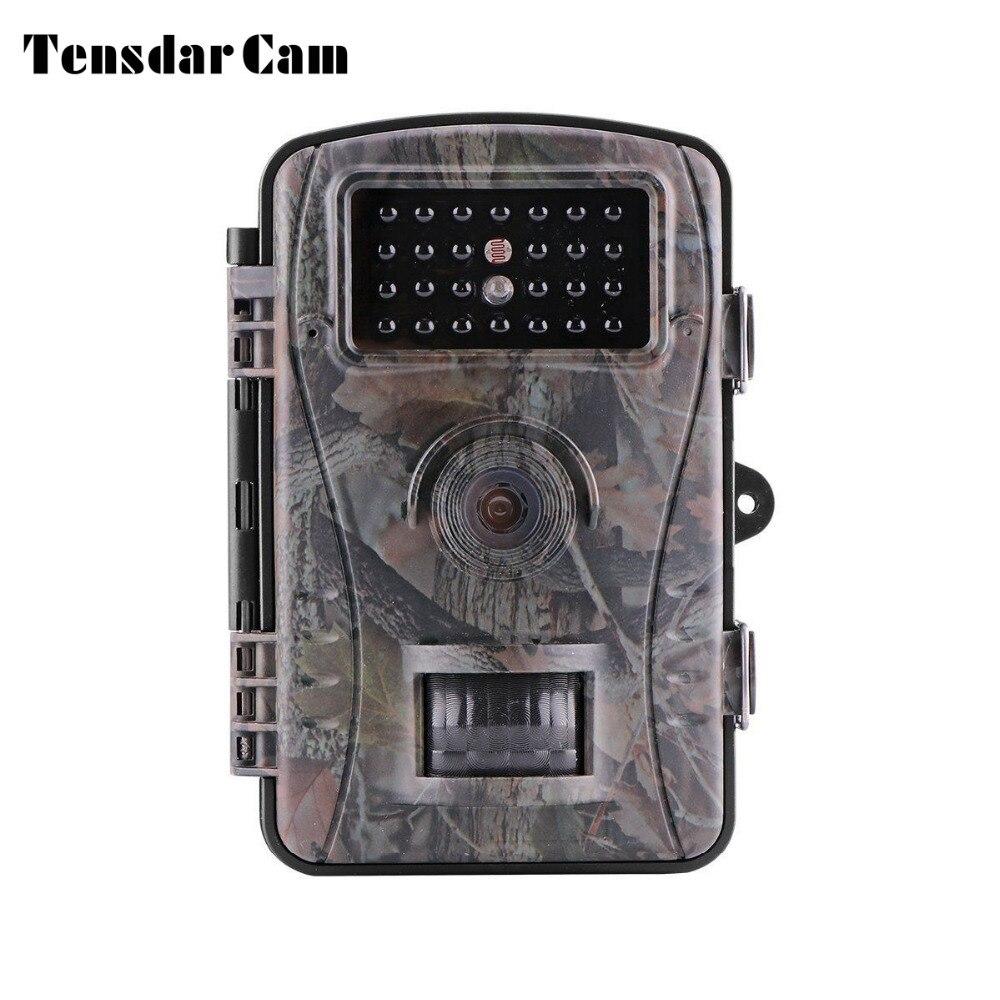 Tensdarcam охоты Камера 720 P 940NM инфракрасный детектор движения Trail Камера s ловушку Hunter Scounting дикой природы Камера
