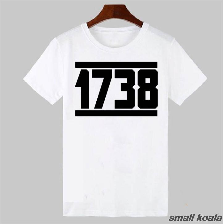 1738 Fetty Wap T Shirt Mens Remy Boyz Trap Queen Drake Drizzy Hip Hop Custom Cotton Short Slever T-Shirt White