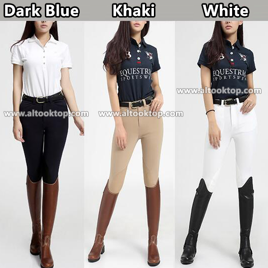 Free Dhl 40pcs Women Horse Riding Chaps Calca Montaria