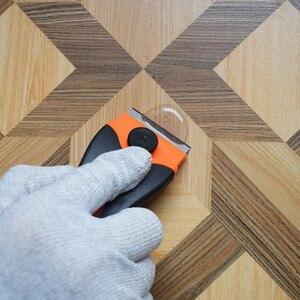 Image 5 - Raspador de lâminas de metal para cola, 10 peças, substituição para cola, pintura de filme, piso de casa e forno de cerâmica k05 limpeza quente