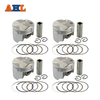 Motorcycle 50 Piston And Ring Set With Pin Rings Clip Kit For CBR400 MC23 MC29 CB400