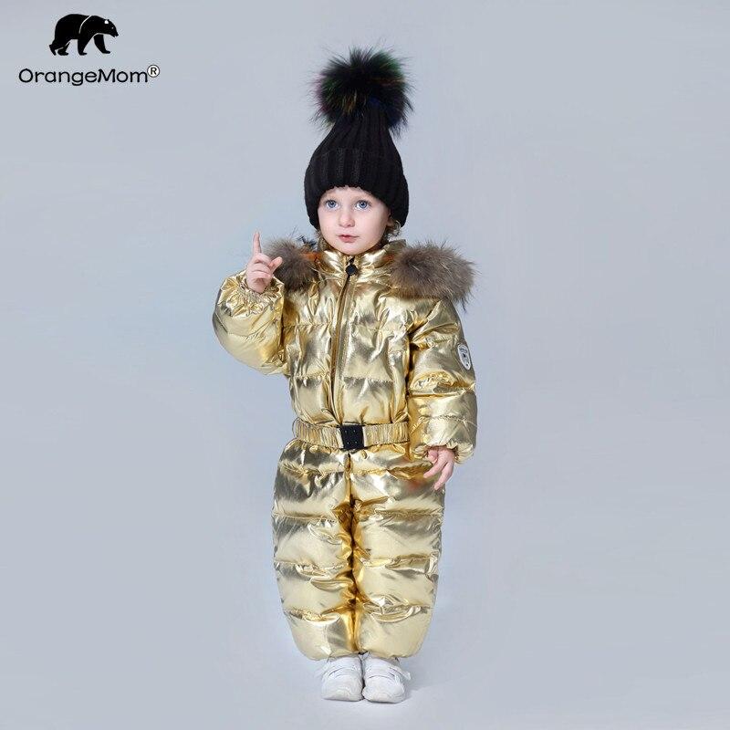 До 35 градусов Orangemom 2018 детская одежда ветровка детский зимний комбинезон  пуховик пальто для девочек мальчиков одежда купить на AliExpress 45903ffac5e84