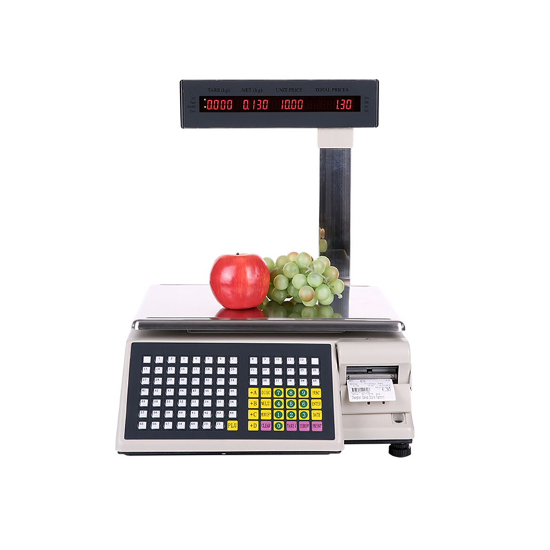 Electronic Barcode Weighing Scale Pos Price Scale Supermarket Weighing Electronic Barcode Scale