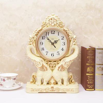 Desktop di Silenzio Retro di Notte Scrivania Orologio di Plastica Ufficio Table Alarm Decorazione A Pendolo Muto Camera Da Letto Orologio Vintage LY454