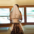 Free Shipping White Camo Wedding Veil With Camouflage Ribbon Edge Wedding Accessories Short Bride Veil Custom Make