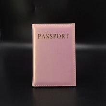 6a0b16bd6767b Seyahat Kadın Pasaport Kapağı Sevimli Üst Kalite Deri Pu Pasaport cüzdan ve  vaka pochette passeport İngiltere