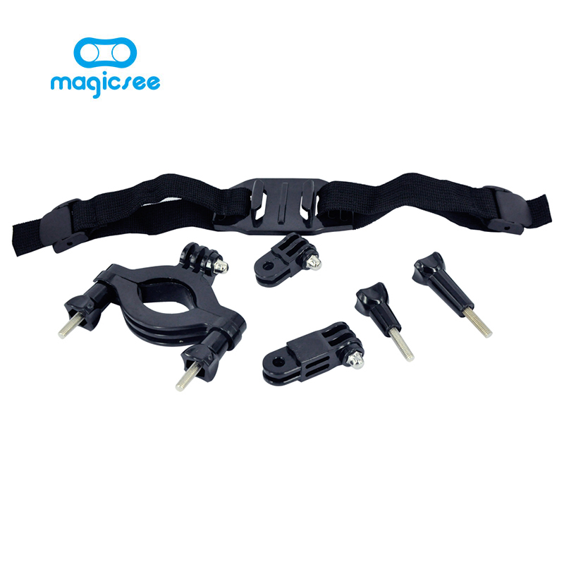 Magicsee Action Camera Accessories for Magicsee P3 Bike Motorcycle Ride Shooting Logger Bracket for Sport Action
