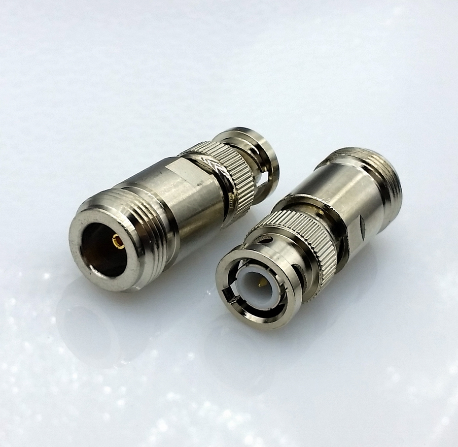 L16 N type Female to BNC male connector RF coaxial Connector N-BNC RF Connector free shipping l16 n type male to male adapter connector n type male connector n jj rf coaxial adapter connector 10pcs lot