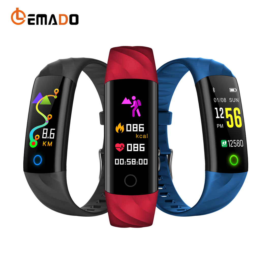 Lover's Watches Enthusiastic Y5 Smart Band Watch Color Screen Wristband Heart Rate Activity Fitness Tracker Smartband Electronics Bracelet Pk Xiaomi Miband 2