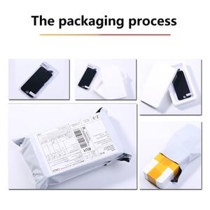 Image 5 - Aaa + + + lcd conjunto completo para iphone 5 5c 5S se 6 7 8 mais toque de vidro display lcd substituição digitador câmera frontal ouvido alto falante