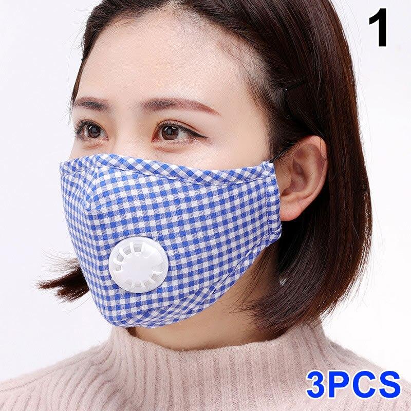 Damen-accessoires 3 Pcs Frauen Männer Mund Gesicht Maske Pm2.5 Aktivkohle Staubdicht Warm Für Winter-mx8 Kunden Zuerst Masken