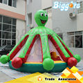 0.55mm PVC Pulpo Inflable Castillo inflable con Obstáculos