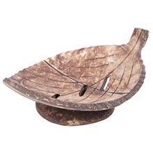 1 шт. креативный ручной работы из натурального дерева мыльница для ванной комнаты контейнер кухня ванна для хранения чашки держатель для мыла лист