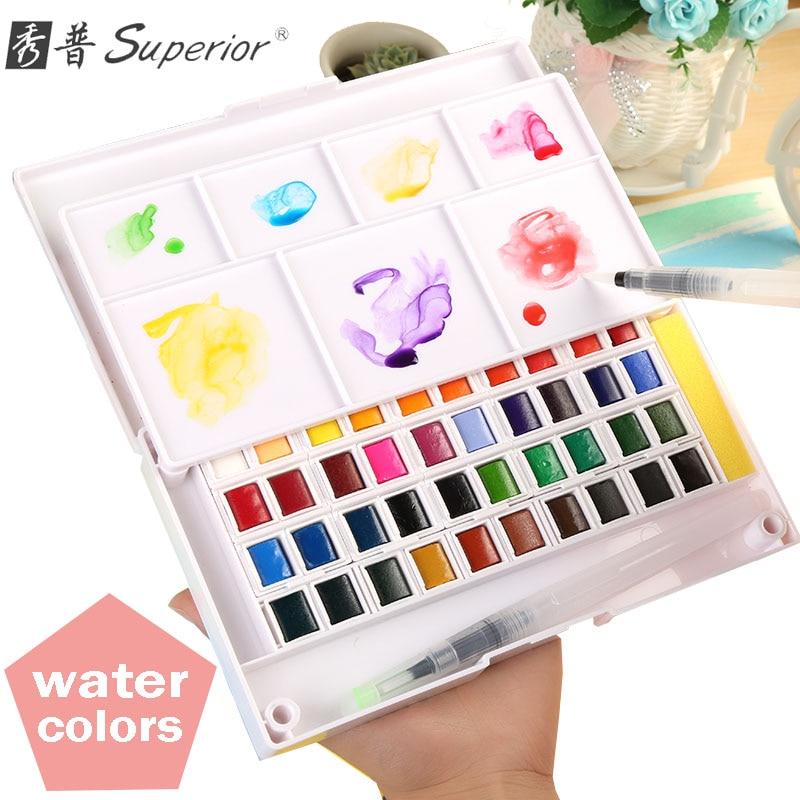 aquarela sólida redemoinho água tinta cor água