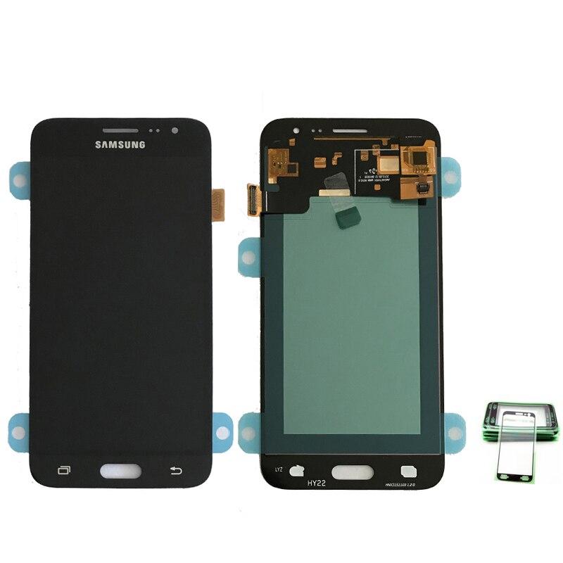 ORIGINAL Super AMOLED LCD Display Für Samsung Galaxy J3 2016 J320 J320A J320F J320P J320M J320Y J320FN Bildschirm Touch Digitizer