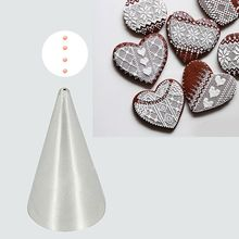 #1 1mm Round Stainless Steel Cream Icing Piping Nozzles Fondant Cupcake Cake Decoration tools  Baking Pastry Tips Tools