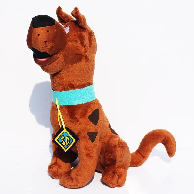 14''35cm América Película Scooby-Doo Scooby Doo Perro de Peluche Juguetes de Peluche Suave Muñeca de la Felpa Del Bebé Precioso Kawaii Juguete Para Regalo de los niños