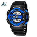 ALIKE AK14111 Men Sport Watch 50m Waterproof Digital Watch G Style Quartz Shock Watch Relojes Hombre hodinky Men Watches 2016