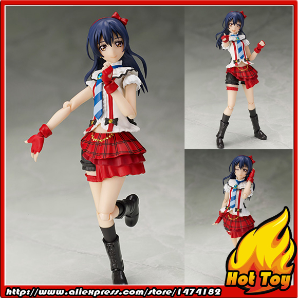 100% Original BANDAI Tamashii Nations S.H.Figuarts (SHF) Exclusive Action Figure - UMI Sonoda from Love Live! 100% original bandai tamashii nations s h figuarts shf exclusive action figure garo leon kokuin ver from garo
