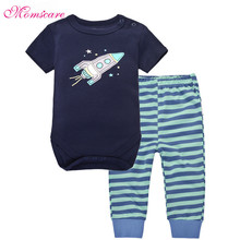 Baby Bodysuits Baby boy girl clothes pants top suit 100% Cotton Long Sleeved Clothing Child Garment Toddler pant Infant Clothes недорого