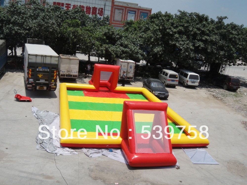 Factory direct inflatable toys inflatable bouncer inflatable font b football b font field