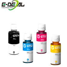 E-deal The Original Dye Ink For HP GT51 GT52 GT5810 GT5820 GT Series Inkjet Printer For GT 51 52 GT 5810 5820 Refill Dye Ink