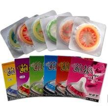 5 pçs homem preservativos adultos produtos de sexo sensação feminino g-ponto estimulação vaginal preservativos sophora viciifolia espiga pênis manga