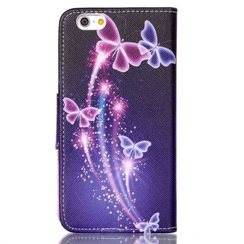 Fundas för iphone 6 täcka Fashion Design Flip läder plånbok för - Reservdelar och tillbehör för mobiltelefoner - Foto 3