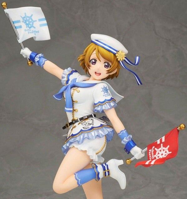Аниме фигурка Живая любовь 22 см Love Live! Hanayo Koizumi аниме фигурку ПВХ Коллекционная модель игрушки для Рождественский подарок 3