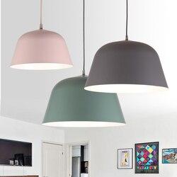 Nowoczesne lampy wiszące Nordic led lampa ozdoby choinkowe do oświetlenia domu lampy drewniane do salonu z abażurem