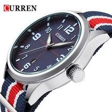 2016 Hot! CURREN Men Fashion Casual Watch Brand Luxury Wristwatches Men Auto Date sports Watches Men's Clock  Relogio Masculino