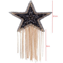 Buy Star beaded patches for iron on Clothing badges  online
