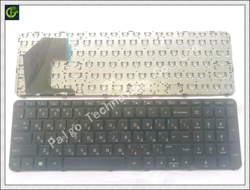 Frame Russian Keyboard for HP Pavilion Sleekbook 15-B183 15 15-B 15-b000 15-b100 15T-B 15t-b100 15t-b000 15Z-B 15-B058SR U36 RU