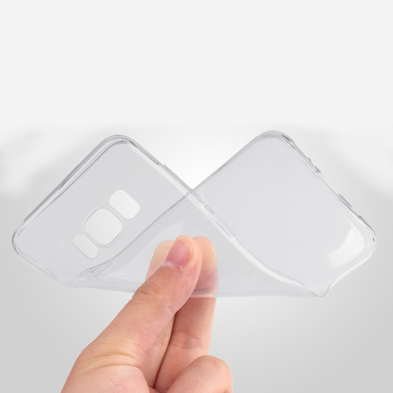 Suntaiho Case for Samsung Galaxy S8 plus Galaxy s7 edge note8 Transparent Silicone TPU Phone Case for Samsung s9 plus note9 Capa