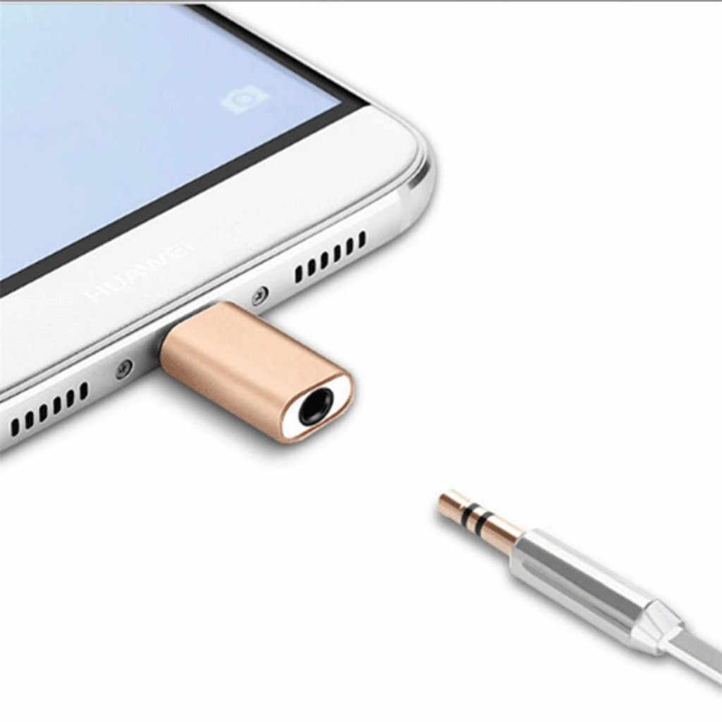 USB C محول TypeC إلى 3.5 مللي متر محول الصوت ل ميكروفون خارجي ل oomo جيب لهواوي P20 برو conttador USB Tipo C L0528