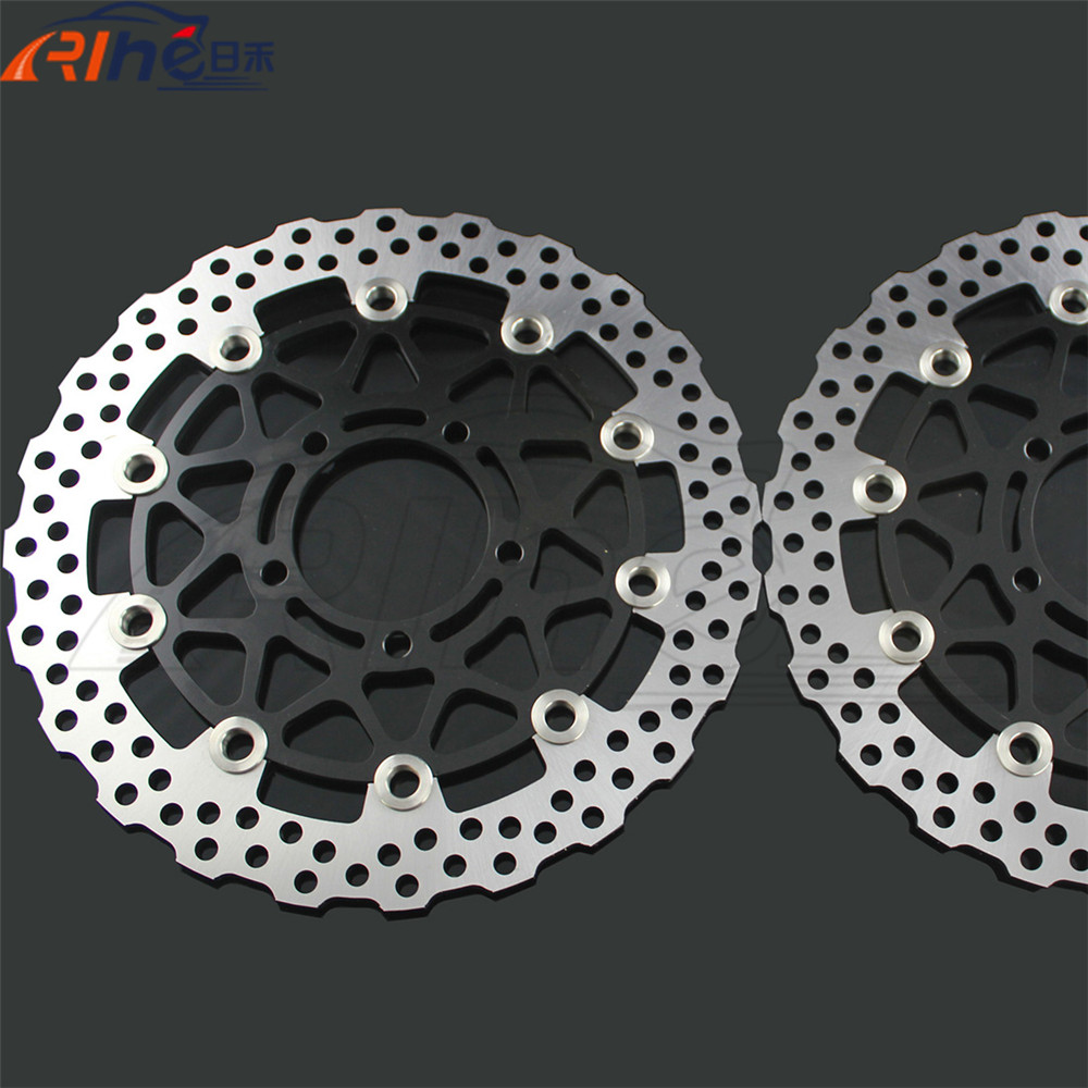 latest style motorcycle parts front brake disc roto For KAWASAKI ZG 1400 Concours 14 B8F-B9F, DAF ZG1400 2008 2009 2010 2011