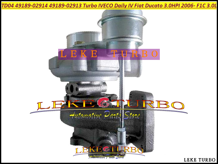 Free Ship Turbo TD04 49189-02914 49189-02913 504137713 504340177 Turbocharger For IVECO Daily IV For Fiat Ducato HPI F1C 3.0L german truks iveco stralis промтоварный