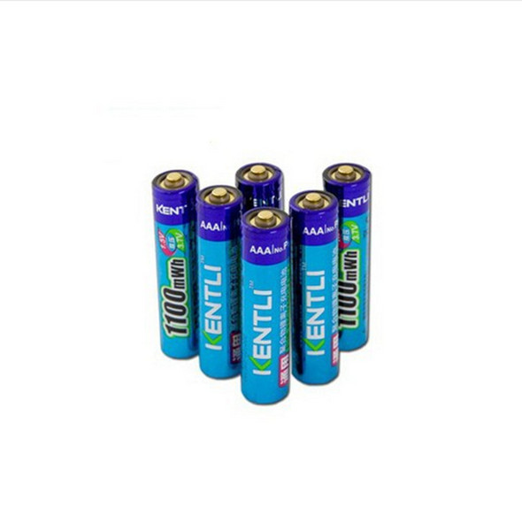 6 pcs/lot Powerful 1.5V AAA 1100mWh Lithium ion polymer Rechargeble Battery Do not buy Alkaline batteries