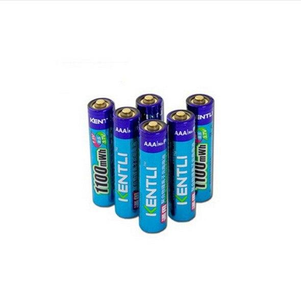 6 pcs/lot Puissant 1.5 V AAA 1100mWh Au Lithium ion polymère Rechargeable Batterie Ne pas acheter piles Alcalines