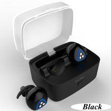 DHL D900S Sílaba Sem Fio Bluetooth Esportes Fones de Ouvido com Cancelamento de Ruído com Estação de Carregamento Powerbank frete grátis PK D900mini
