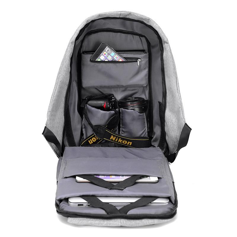 laptop escola mochila masculino mochila IN Material Texture : Women Backpack
