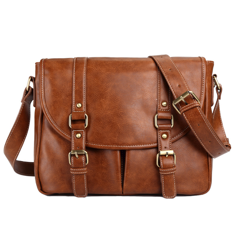 2018 Vintage Men's Messenger Bags Vintage leather Shoulder Bag Men Business Crossbody Bag Laptop Travel Handbag kaypro краска для волос kay direct 100 мл