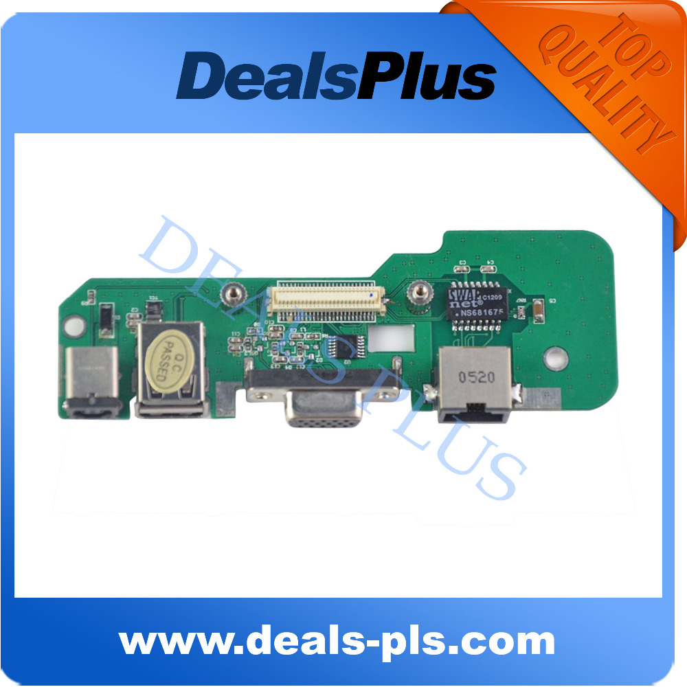 New DC Jack Board W/ Octagon Shaped Jack For Dell Inspiron 1545 48.4AQ03.011