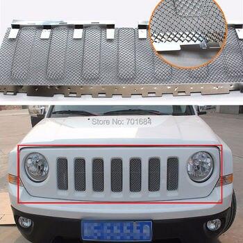 Front Netz Grille Grill Grid Einsätze Insektennetz Für Jeep Patriot 2011 2012 2013 2014 2015 2016 [QP1036]