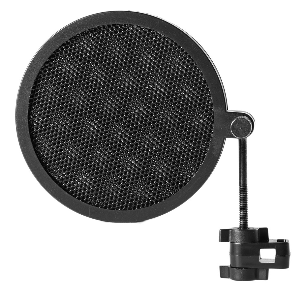 Ps-2 Double Layer Studio Microphone Mic Wind Screen Pop Filter/ Swivel Mount / Mask Shied For Speaking Recording High Quality !!