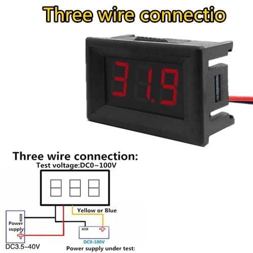 Three wire connectio