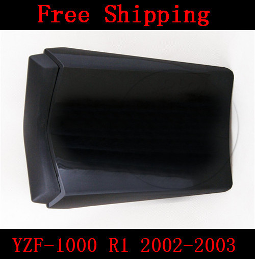 For Yamaha YZF 1000 R1 2002-2003 motorbike seat cover Motorcycle Black fairing rear sear cowl cover Free Shipping for yamaha yzf 600 r6 2006 2007 motorbike seat cover high quality motorcycle black fairing rear sear cowl cover