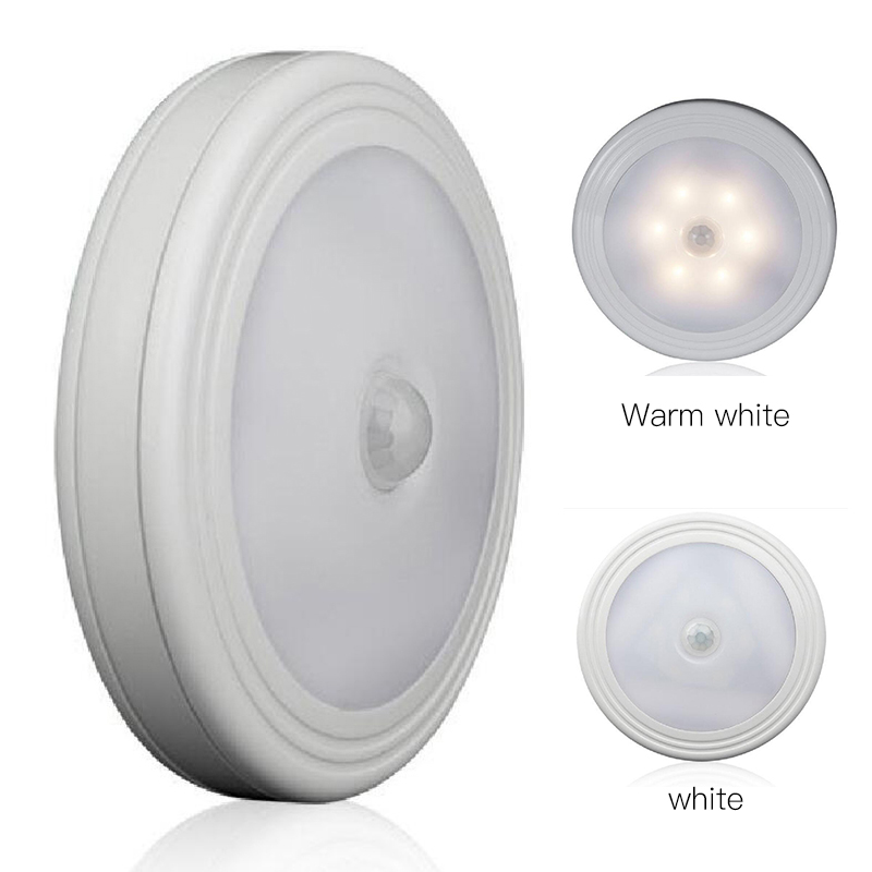 Magnetic Infrared IR Bright Motion Sensor Activated LED Wall Lights Night Light Auto On/Off Battery Operated Hallway Pathway adj motion sensor led night light smart human body induction nightlight auto on off battery operated hallway pathway toilet lamps