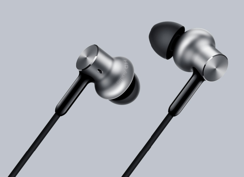 In Stock! 2016 New Original Xiaomi Hybrid Pro Earphone 1More Mi Ear Headphones Headset 2 Unit In Circle Iron Mixed Piston original xiaomi xiomi mi hybrid earphone 1more design in ear multi unit piston headset hifi for smart mobile phone fon de ouvido
